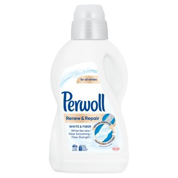 Perwoll Renew & Repair White & Fiber Płynny środek do prania 900 ml (15 prań) (1)