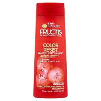 Garnier Fructis Color Resist Szampon wzmacniający do włosów farbowanych i z pasemkami 400 ml (1)
