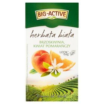 Big-Active Herbata biała brzoskwinia kwiat pomarańczy 30 g (20 x 1,5 g) (2)
