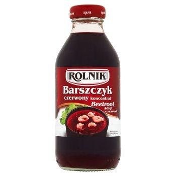 Rolnik Barszczyk czerwony koncentrat 330 ml (1)