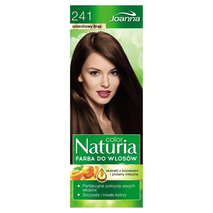 Joanna Naturia color Farba do włosów orzechowy brąz 241 (2)