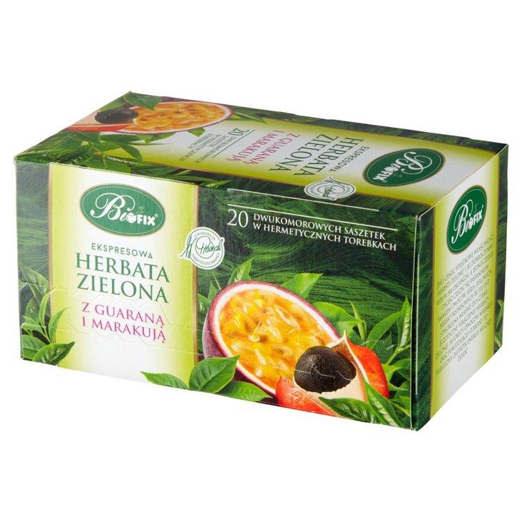 Bifix Ekspresowa herbata zielona z guaraną i marakują 40 g (20 x 2 g) (1)