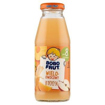 Bobo Frut 100% sok wieloowocowy po 8. miesiącu 300 ml (1)