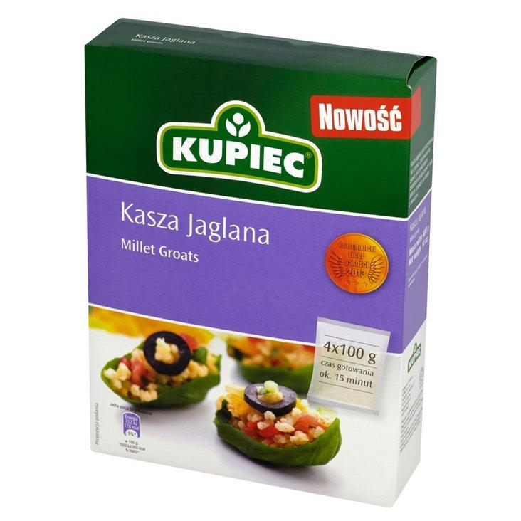 Kupiec Kasza jaglana 400 g (4 torebki) (1)