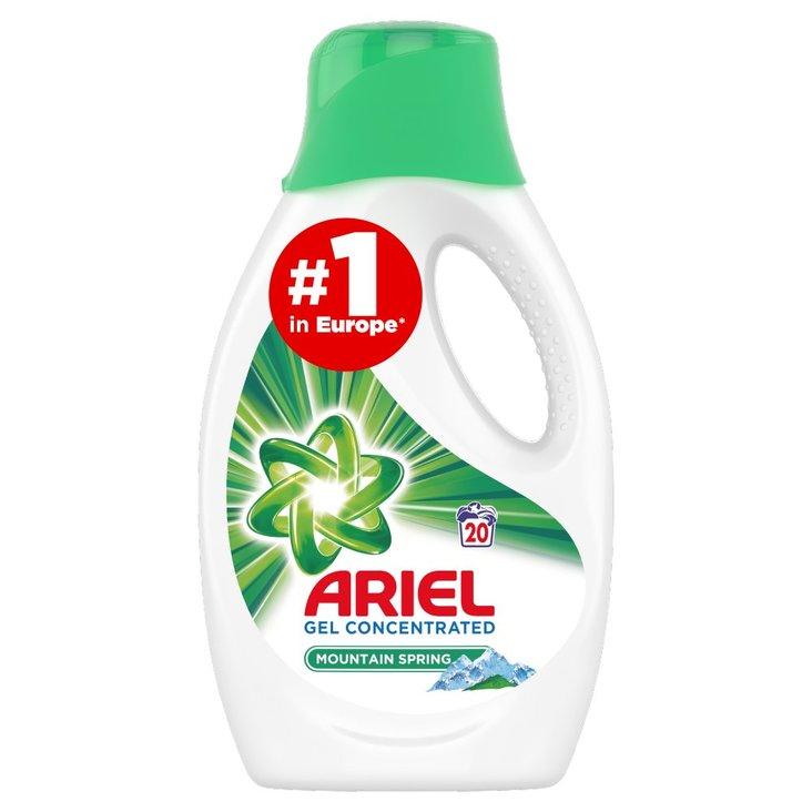 Ariel Mountain Spring Płyn do prania, 1.1L, 20 prań (1)