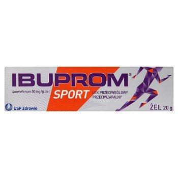 Ibuprom Sport 50 mg/g Żel 20 g (2)