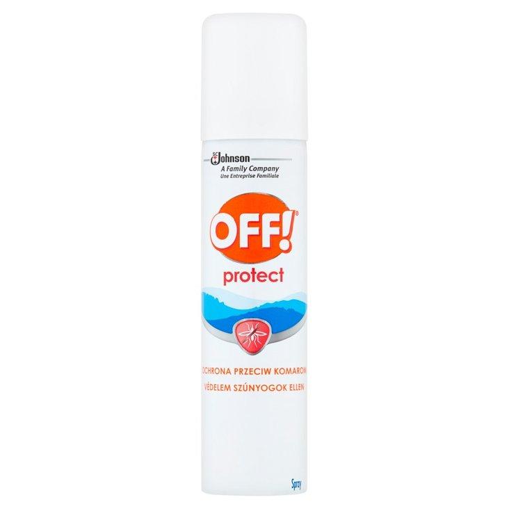 OFF! Protect Repelent przeciw komarom i kleszczom w aerozolu 100 ml (1)