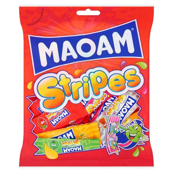 Maoam Stripes Guma rozpuszczalna 150 g (1)