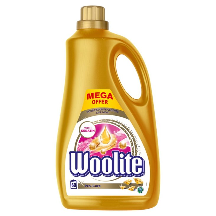 Woolite Pro-Care Płyn do prania 3,6 l (60 prań) (1)