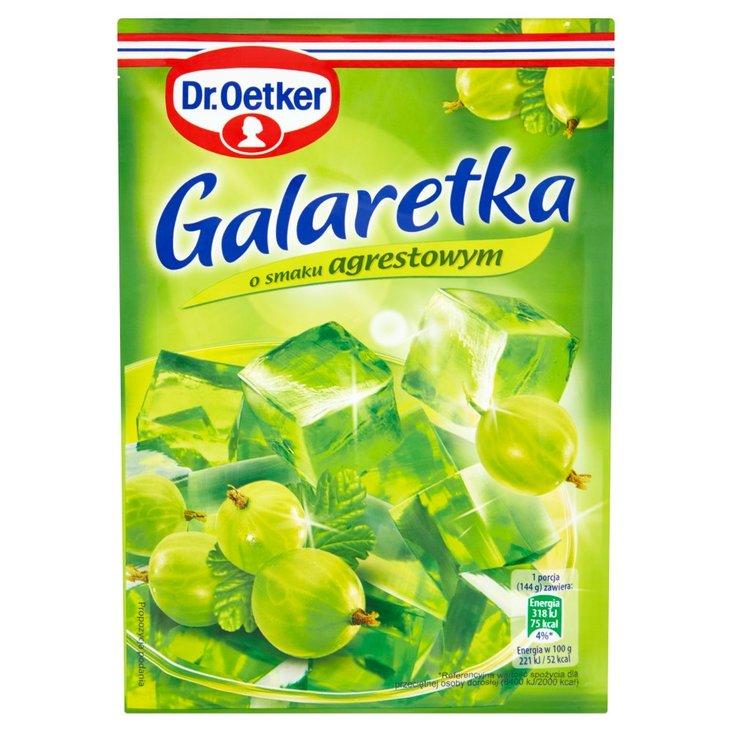 Dr. Oetker Galaretka o smaku agrestowym 77 g (2)