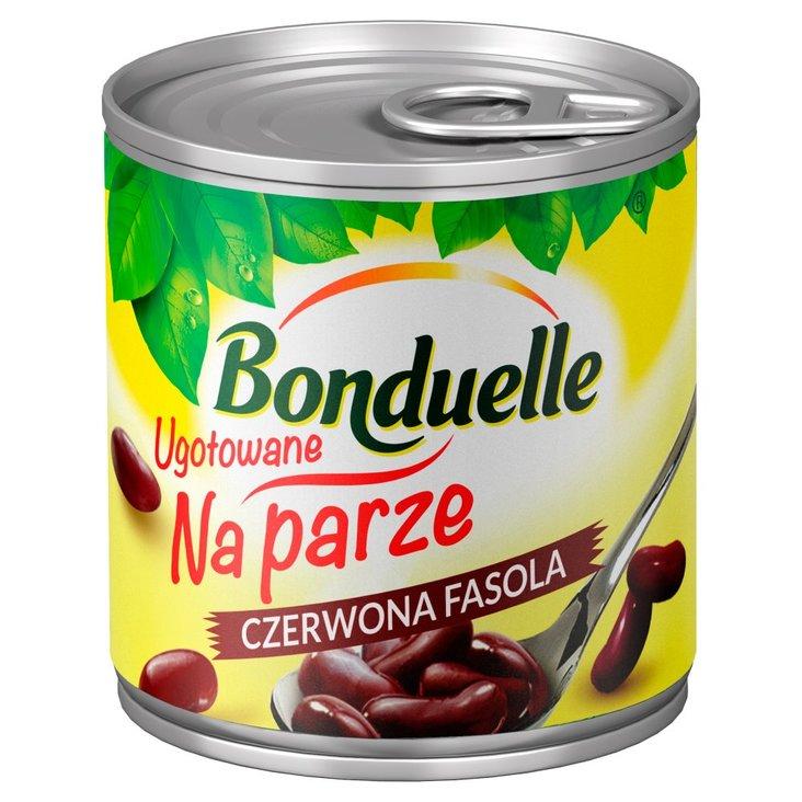 Bonduelle Ugotowane na parze Czerwona fasola 160 g (1)