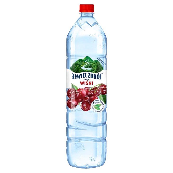 Żywiec Zdrój Napój niegazowany z nutą wiśni 1,5 l (1)