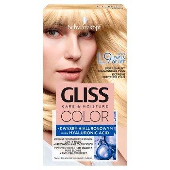Schwarzkopf Gliss Color Ekstremalny rozjaśniacz plus L9 (1)