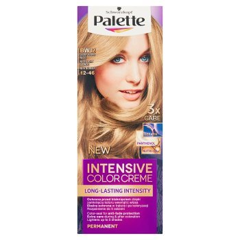 Palette Intensive Color Creme Farba do włosów jasny blond nude BW12 (12-46) (2)