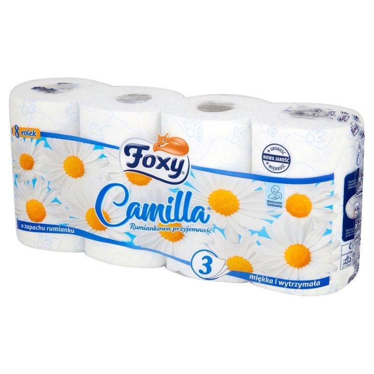 Foxy Camilla Papier toaletowy 8 rolek (1)