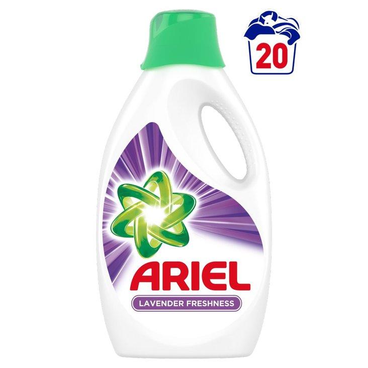Ariel Lawenda Płyn do prania, 1.1l, 20 prań (1)