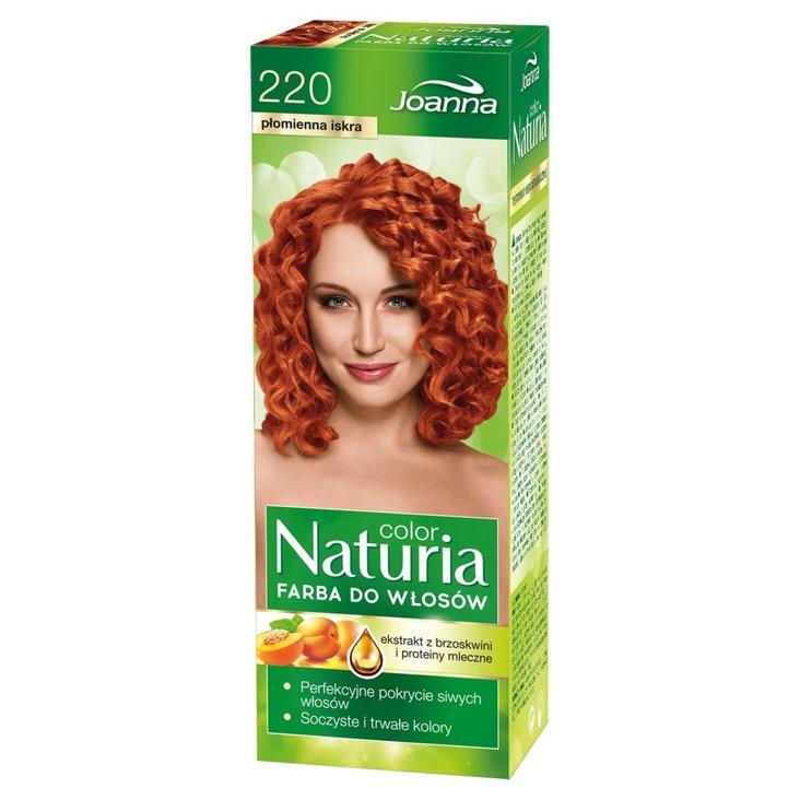 Joanna Naturia color Farba do włosów płomienna iskra 220 (1)