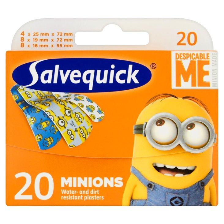 Salvequick Minionki Plastry 20 sztuk (1)