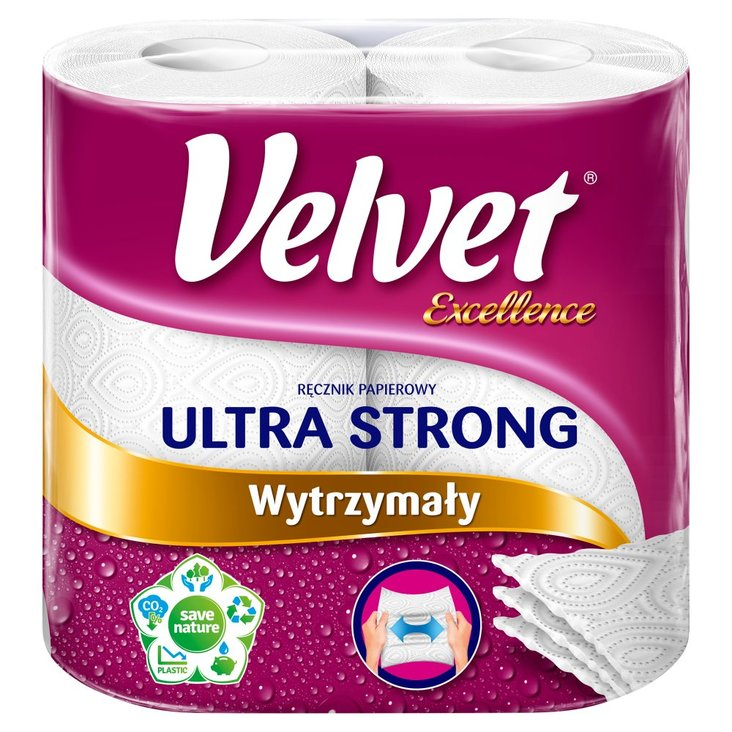 Velvet Excellence Ultra Strong Ręcznik papierowy 2 rolki (2)