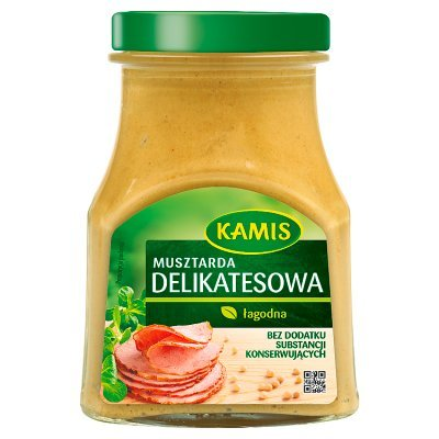 Kamis Musztarda delikatesowa 185 g (1)