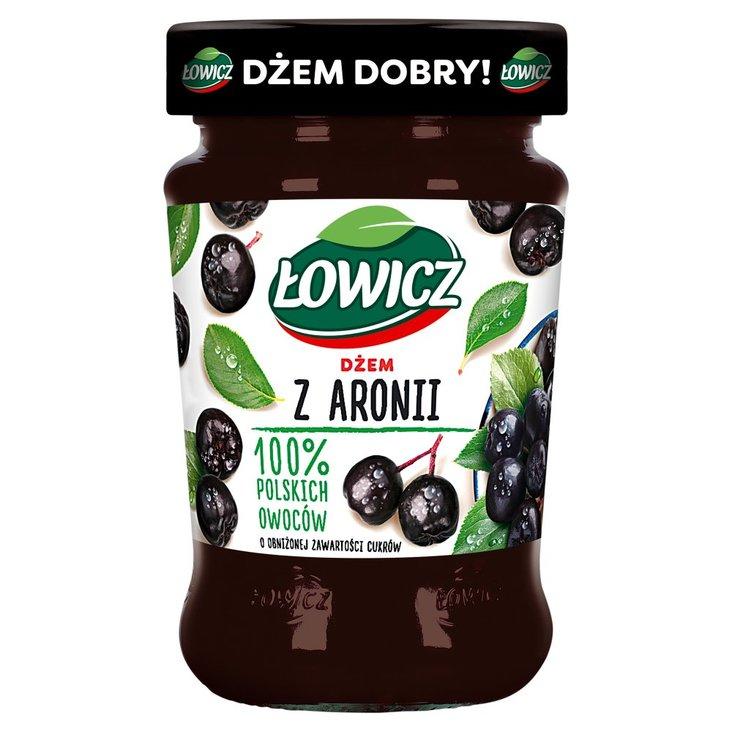 Łowicz Dżem z aronii o obniżonej zawartości cukrów 280 g (1)