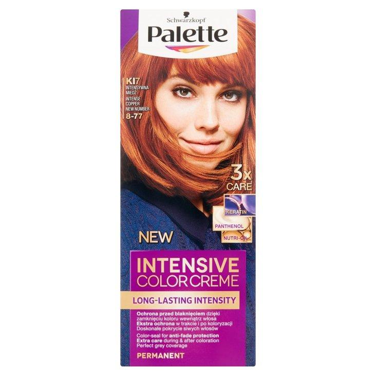 Palette Intensive Color Creme Farba do włosów intensywna miedź KI7 (8-77) (2)