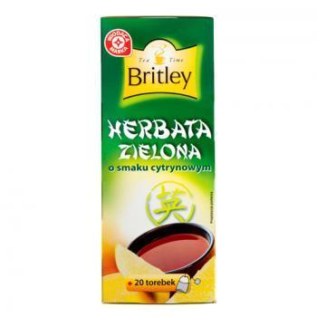 WM herbata zielona o smaku cytrynowym 20 tb x 2 g (1)