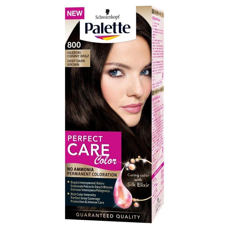 Palette Perfect Care Color Krem koloryzujący Głęboki ciemny brąz 800 (1)