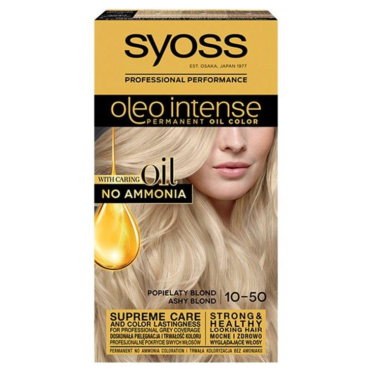Syoss Oleo Intense Farba do włosów popielaty blond 10-50 (1)