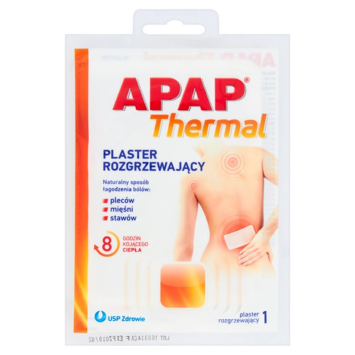 Apap Thermal Plaster rozgrzewający (1)
