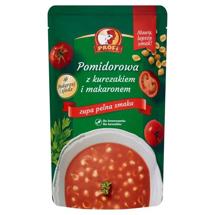 Profi Pomidorowa z kurczakiem i makaronem 450 g (1)