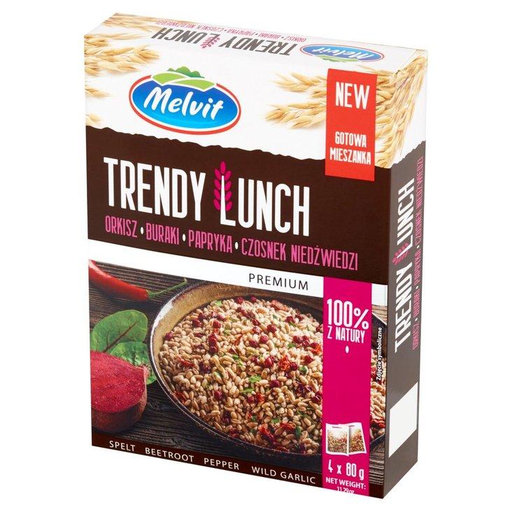 Melvit Premium Trendy Lunch okisz buraki papryka czosnek niedźwiedzi 320 g (4 x 80 g) (1)