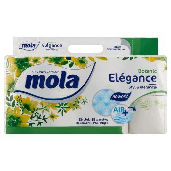 Mola Elégance Botanic Papier toaletowy 8 rolek (2)