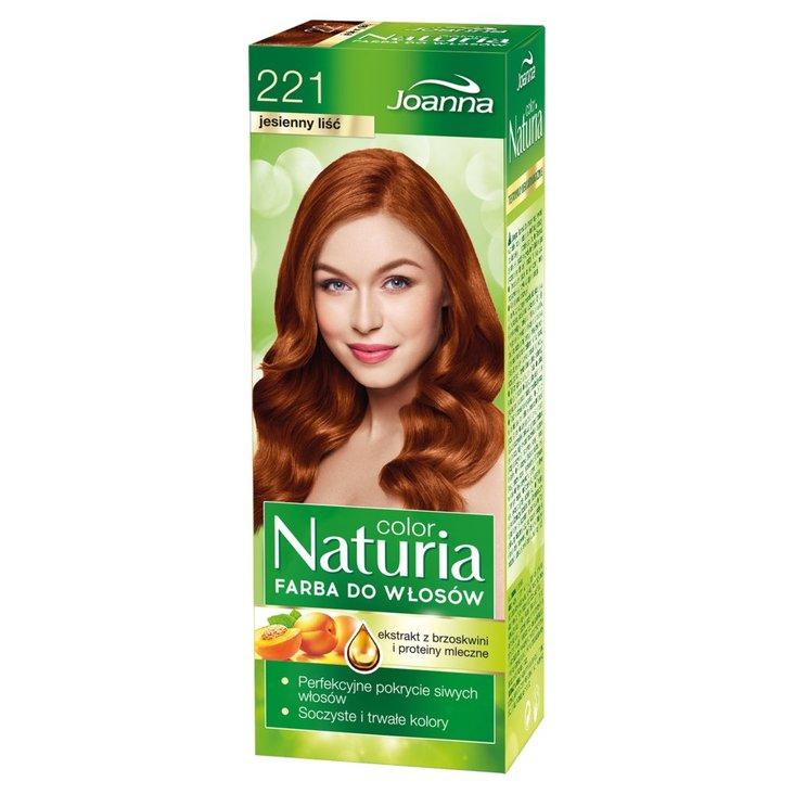 Joanna Naturia color Farba do włosów jesienny liść 221 (1)