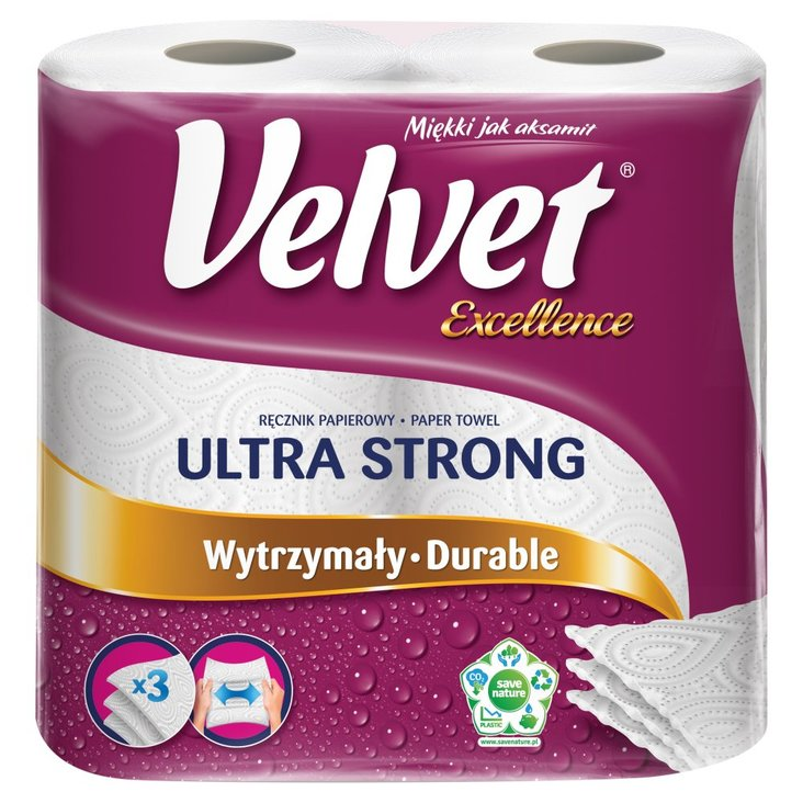 Velvet Excellence Ultra Strong Ręcznik papierowy 2 rolki (3)