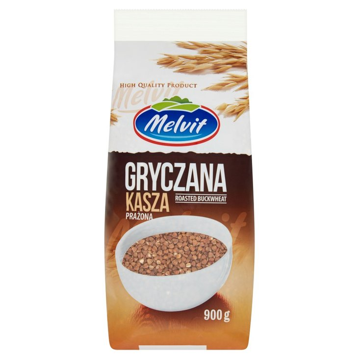 Melvit Kasza gryczana prażona 900 g (1)