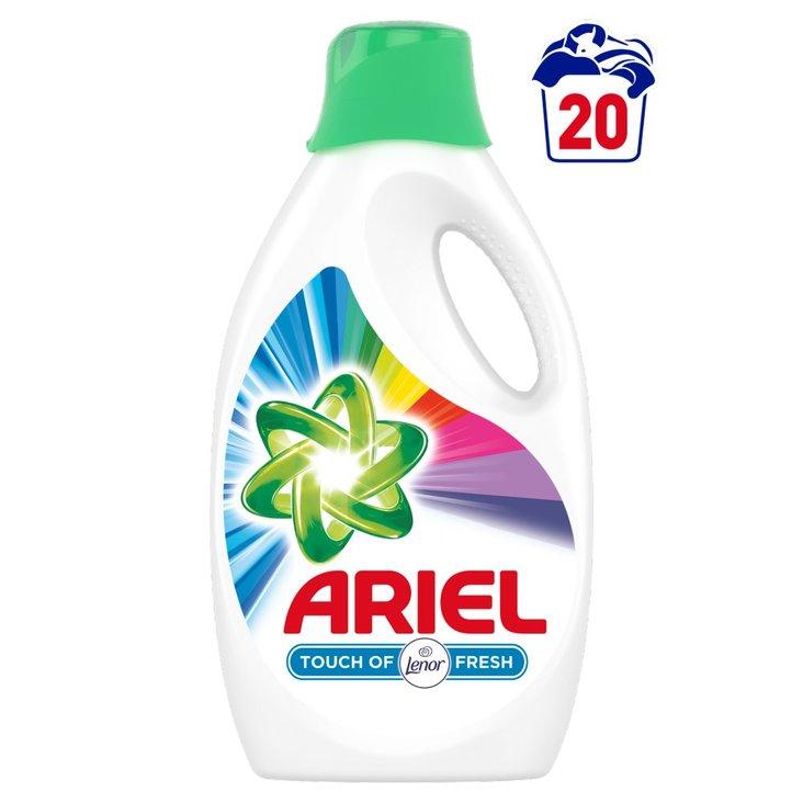 Ariel Touch of Lenor Color Płyn do prania, 1.1l, 20 prań (1)