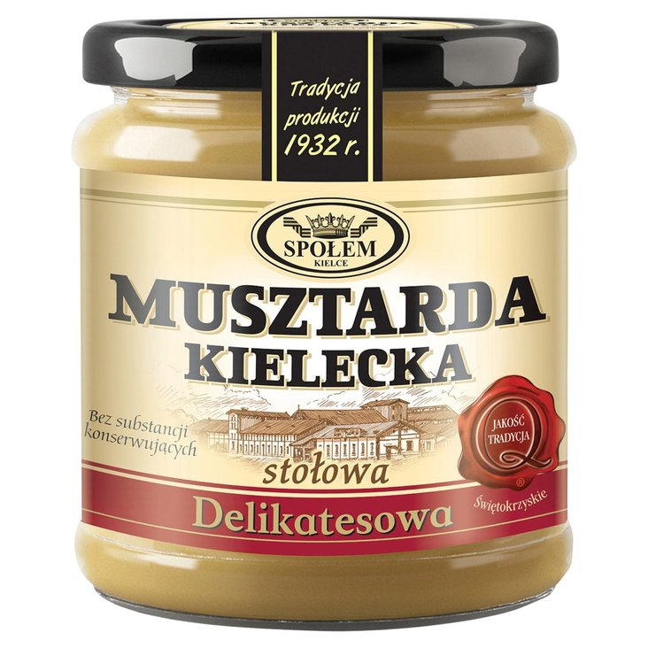 Musztarda Kielecka delikatesowa 190 g (1)
