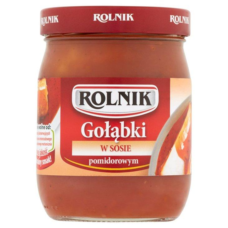 Rolnik Gołąbki w sosie pomidorowym 500 g (2)