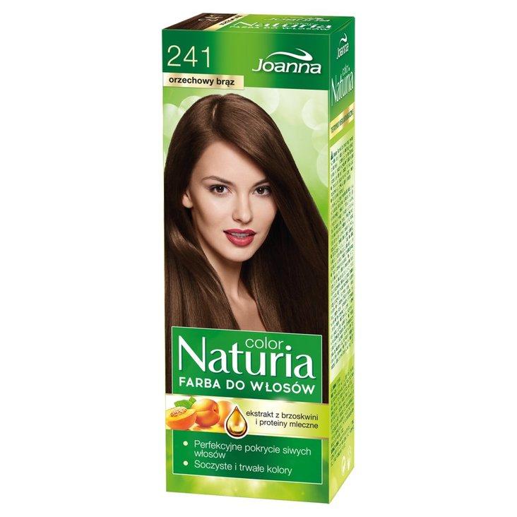 Joanna Naturia color Farba do włosów orzechowy brąz 241 (1)