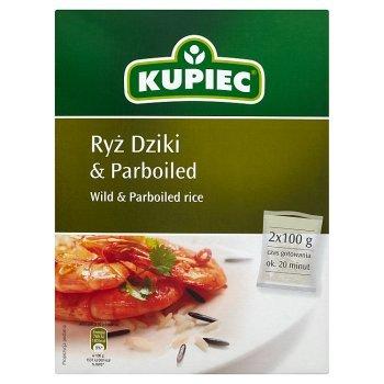 Kupiec Ryż dziki i parboiled 200 g (2 torebki) (2)