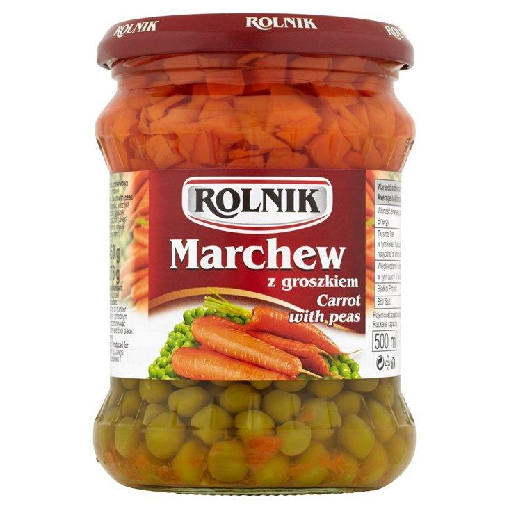 Rolnik Marchew z groszkiem 460 g (2)