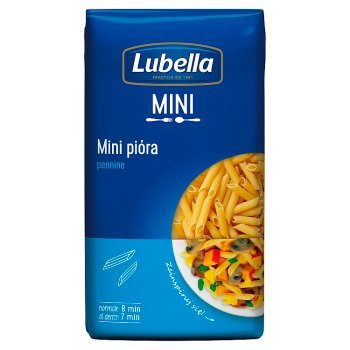 Lubella Makaron mini pióra pennine 400 g (2)