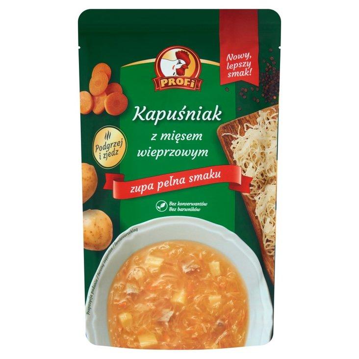 Profi Kapuśniak z mięsem wieprzowym 450 g (1)