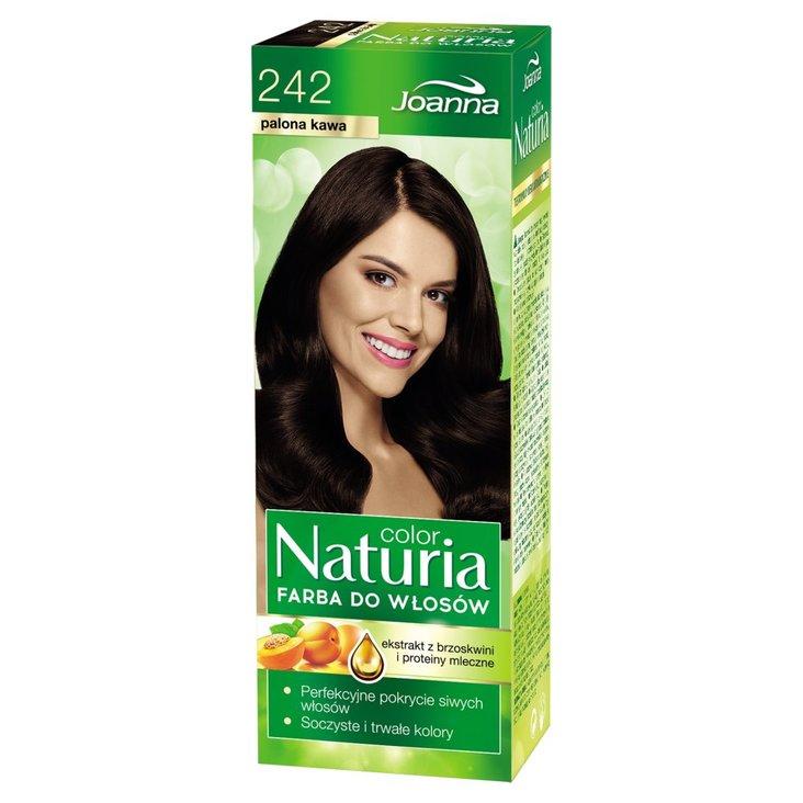 Joanna Naturia color Farba do włosów palona kawa 242 (1)