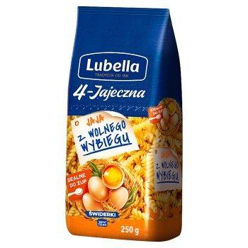 Lubella 4-Jajeczna Makaron świderki 250 g (1)