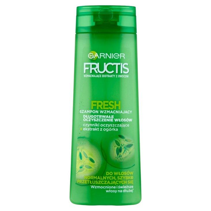 Garnier Fructis Fresh Szampon wzmacniający do włosów normalnych szybko przetłuszczających się 400 ml (1)