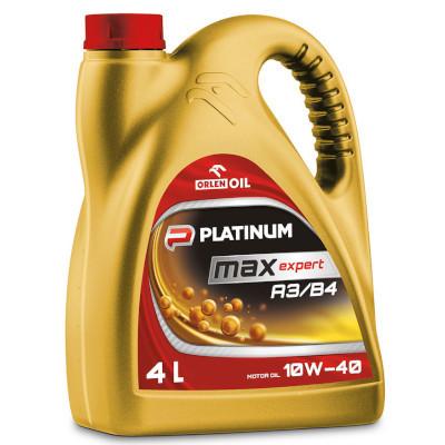 Olej Platinum Max Expert A3/B4 10W-40 4 l (1)