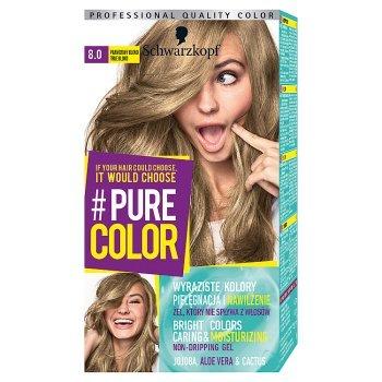 Schwarzkopf Pure Color Farba do włosów prawdziwy blond 8.0 (1)