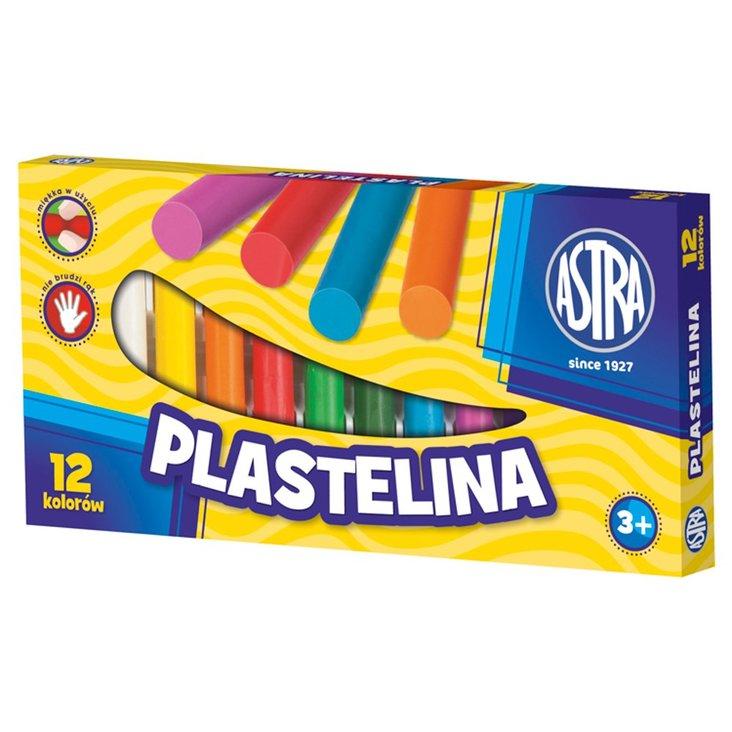 Astra Plastelina 12 kolorów (1)